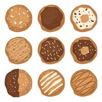 Cookies isolated on white vector