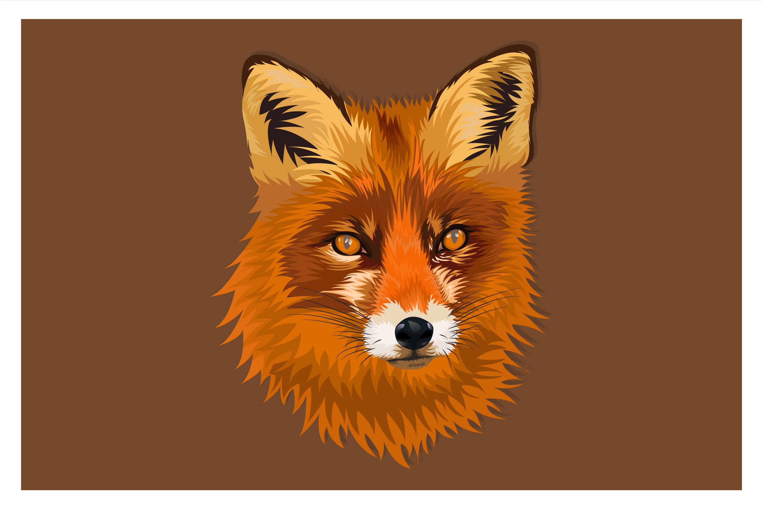 Cartoon Fox Head Drawing Download Free Vectors Clipart Graphics Vector Art
