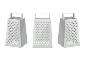 Grater isolated on white