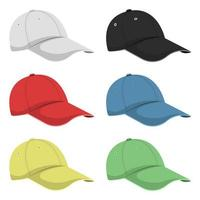 Cap isolated on white vector