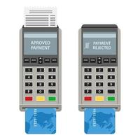 POS machines isolated