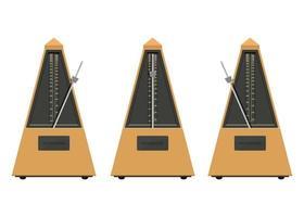 Set of metronome  vector
