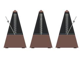 Metronome isolated on white vector