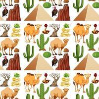 grupo de animais do deserto