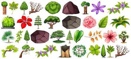 conjunto de diferente naturaleza. vector