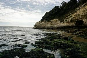 Rocky coastal waters  photo