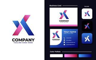 Initial X Branding Set
