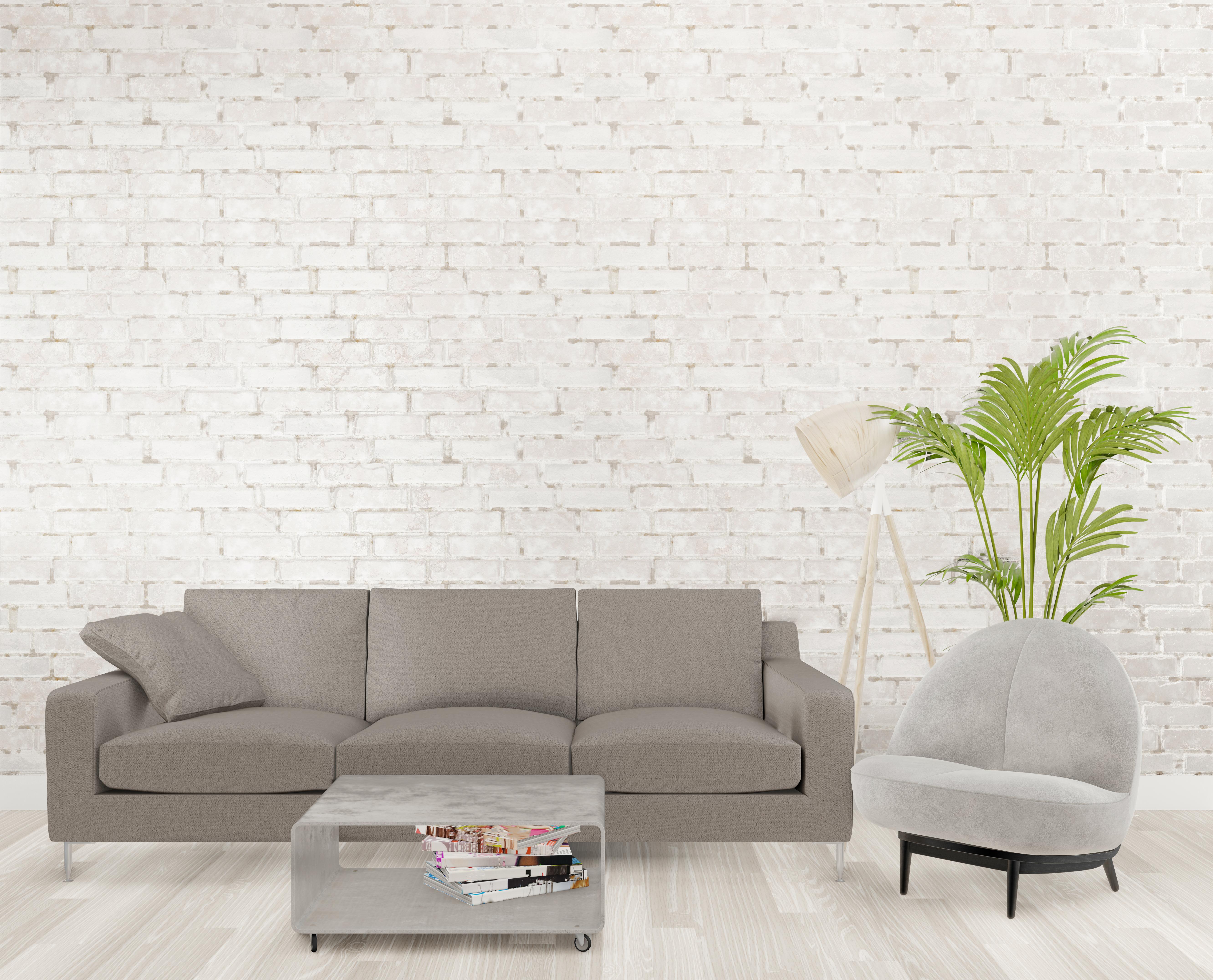 3D loft living room