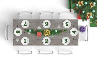 Christmas party seating