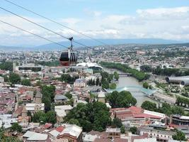 Ropeway in Tbilisi