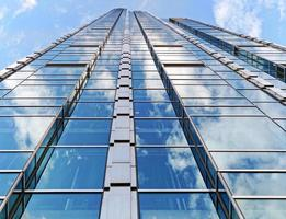 Low angle shot of a tall building