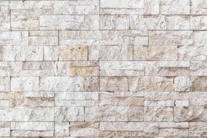 Beige sandstone wall