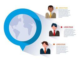 empresarios en infografia