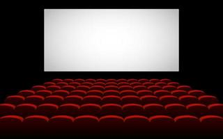cine sala de cine vector