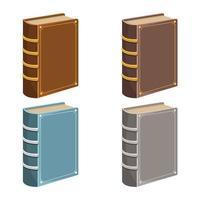 libros antiguos vector