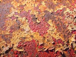 textura de óxido de metal