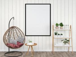 diseño de interiores de silla nido foto
