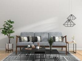 Geometric living room