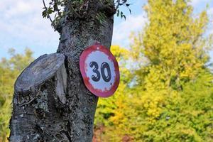 Birthday sign in Tuttlingen
