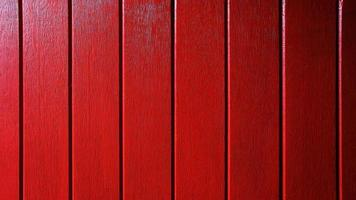 Red wooden planks wall