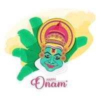 Happy Onam festival design