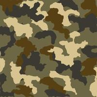 fondo de patrón de camuflaje militar vector