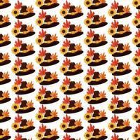 Happy thanksgiving seamless pattern