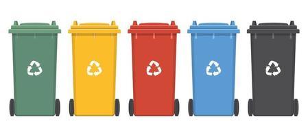 Dumpster for trash  vector