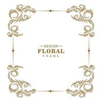 Decorative artistic floral  vector