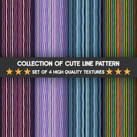 Set of vertical stripes, texture background patterns