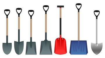 Shovel isolated on white