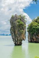 Limestone cliff, Phang Nga Bay