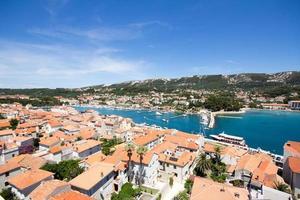 Town center of Croatia