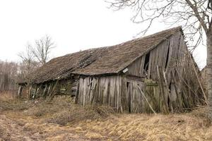 Abandoned old barn