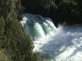 cascate Huka e fiume Waikato