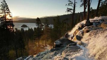 Eagle Falls and Emerald Bay, Lake Tahoe, sunrise