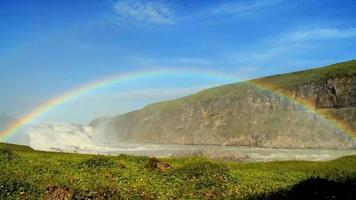 waterval regenboog