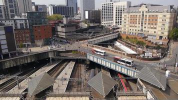 transporte de la ciudad - nueva estación de la calle video