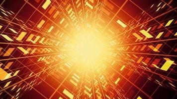 túnel de tecnología caliente video