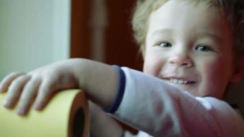 sonrisa de niño.