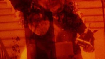 graffio di pellicola. video