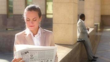 Kaffee und Nachrichten