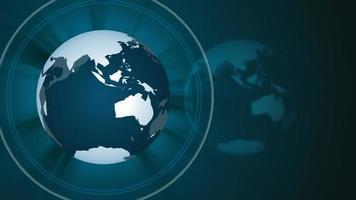 Hintergrund der Weltnachrichtenschleife. video