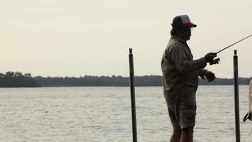 pêche video