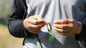 change lures fishing video