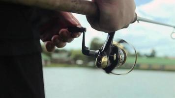 bobina de pesca