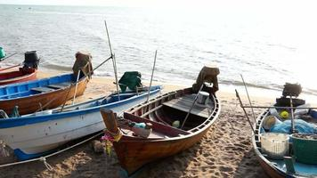 barcos de pesca tradicionais - manhã