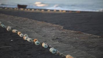 red de pesca. video