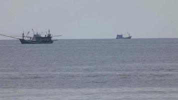 barcos de pesca video