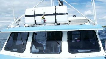 elementos de barco de pesca